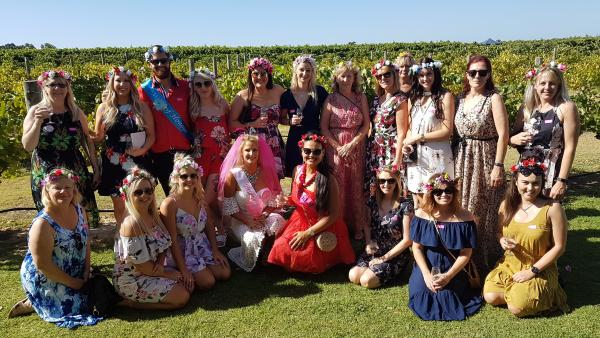 Hens Party Wine Tour